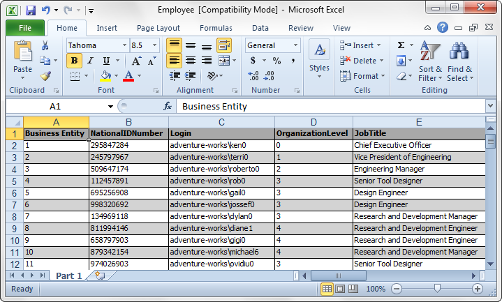 SQL SERVER - How to export data from SQL Server to Excel or any other Format? img06