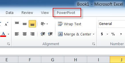 SQL SERVER - Enable PowerPivot Plugin in Excel pp7