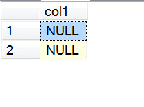 SQL SERVER - A Quick Puzzle on JOIN and NULL - SQL Brain Teaser puzexpected