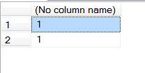 SQL SERVER - Simple Puzzle with UNION puzzunion1