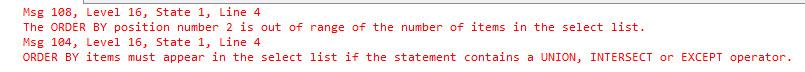 SQL SERVER - Simple Puzzle with UNION puzzunion2