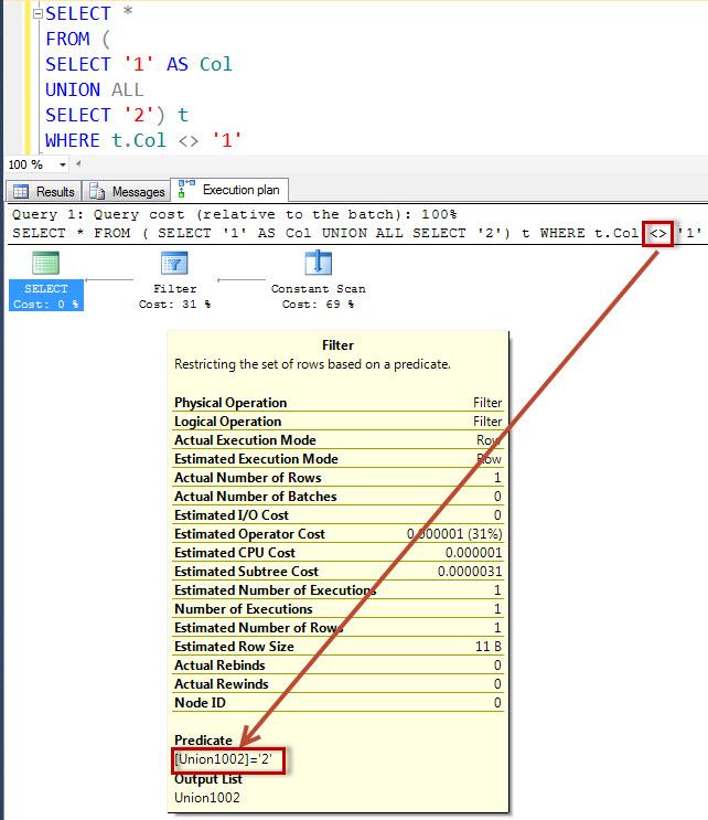 SQL SERVER - Simple Puzzle with UNION - Part 4 puzzunion4-2