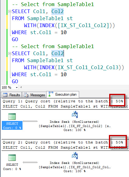 SQL SERVER - An Interesting Case of Redundant Indexes - Index on Col1, Col2 and Index on Col1, Col2, Col3 - Part 2 redundant11