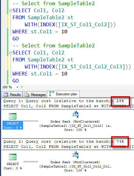 SQL SERVER - An Interesting Case of Redundant Indexes - Index on Col1, Col2 and Index on Col1, Col2, Col3 - Part 2 redundant12