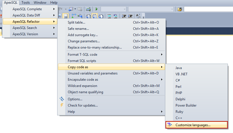 SQL SERVER - How to Format and Refactor Your SQL Code Directly in SSMS and Visual Studio image025