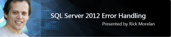 SQL SERVER - Get Free Books on While Learning SQL Server 2012 Error Handling rickerrorwebinar