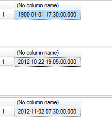 SQL SERVER - Function to Round Up Time to Nearest Minute Interval roundtime