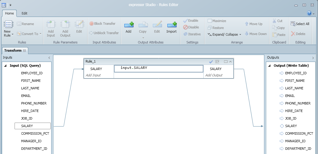 SQL SERVER - expressor Studio 3.4 Rules Editor - ETL Graphical Coding Tool ruleseditor3