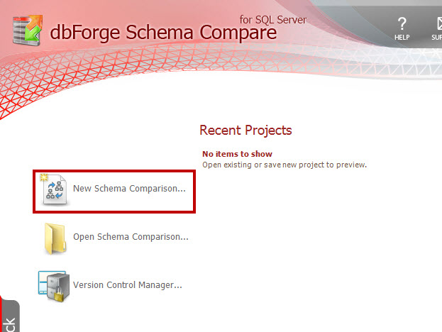 SQL SERVER - How to Compare the Schema of Two Databases with Schema Compare schemacompare1