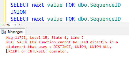 SQL SERVER - A Puzzle - Fun with SEQUENCE in SQL Server 2012 - Guess the Next Value seqpuz2