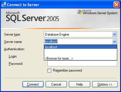 SQL SERVER - Clear Drop Down List of Recent Connection From SQL Server Management Studio servernamelist