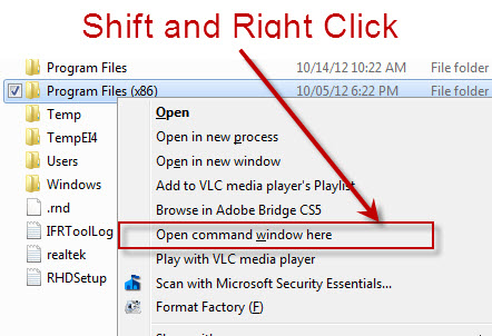 SQLAuthority News - Windows Efficiency Tricks and Tips - Personal Technology Tip shiftrightclick