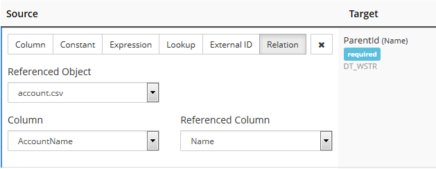 SQL SERVER - Integrate Your Data with Skyvia - Cloud ETL Solution relation-mapping