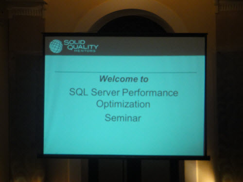 SQLAuthority News - SQL Server Performance Optimizations Seminar - Grand Success - Colombo, Sri Lanka - Oct 4 - 5, 2010 SriLankaSeminar (2)