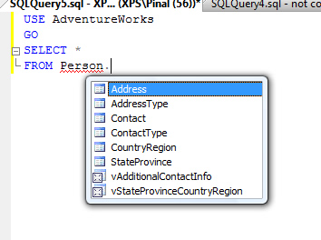 SQL SERVER - SQL Server Management Studio New Features sql-features-1