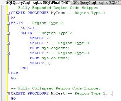 SQL SERVER - SQL Server Management Studio New Features sql-features-5