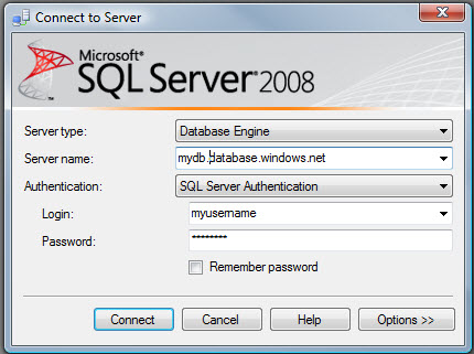 SQL SERVER - Fix : Error : Invalid object name 'sys.configurations'. (Microsoft SQL Server, Error: 208) sqlazure3