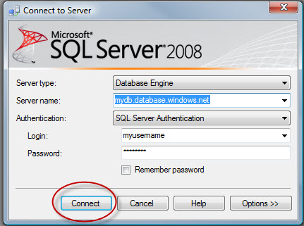 SQL SERVER - Fix : Error : Invalid object name 'sys.configurations'. (Microsoft SQL Server, Error: 208) sqlazure5