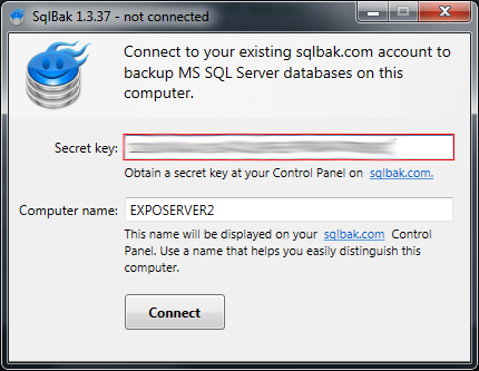 SQL SERVER - Configure, Monitor and Restore Backups from Mobile & Web browser SqlBak003