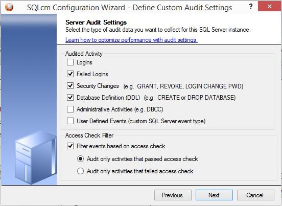 SQL SERVER - Exploring SQL Auditing with SQL Compliance Manager sqlcm1