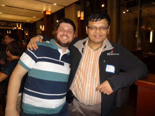 SQLAuthority News - Meeting SQL Friends - SQLPASS 2011 Event Log sqlpassfriends08