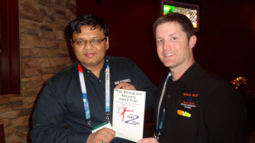 SQLAuthority News - #SQLPASS 2012 Book Signing Photos booksign (6)