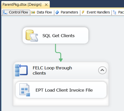 SQL SERVER - SSIS Parameters in Parent-Child ETL Architectures - Notes from the Field #040 ssarch3