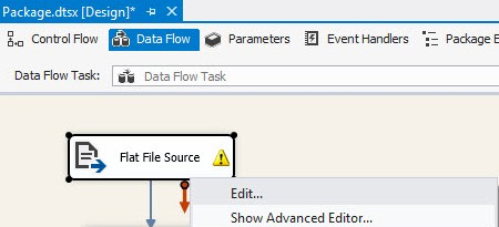 SQL SERVER - SSIS Data Flow Troubleshooting - Part1 - Notes from the Field #019 DFT1_10