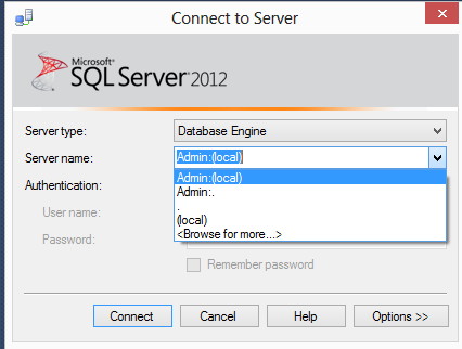 SQL SERVER - Another lesser known feature of SQL Server Management Studio 2012 - Guest Post by Balmukund Lakhani ssms-b1
