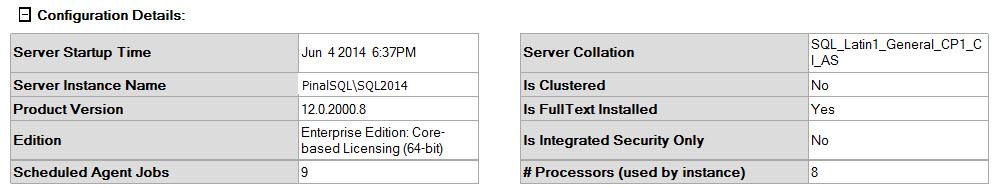 SQL SERVER - SSMS: Server Dashboard Report ssmsreport-2