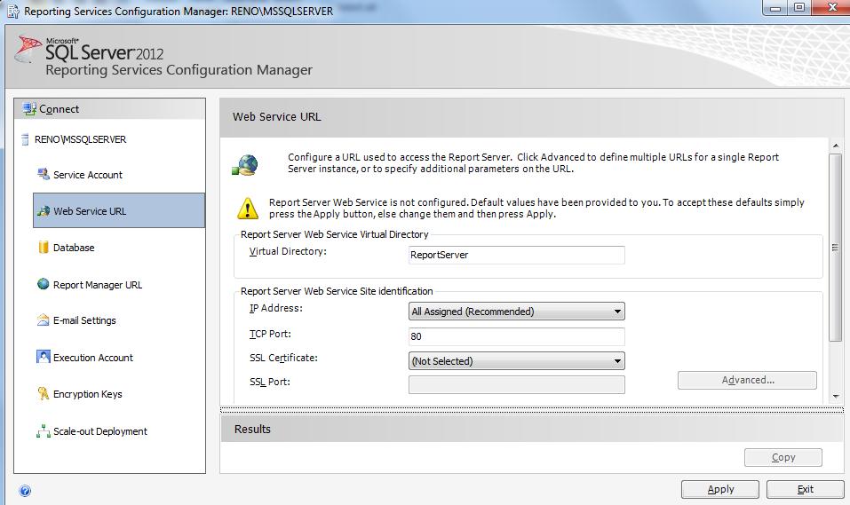 SQL SERVER - Installing SQL Server Data Tools and SSRS ssrs3-6