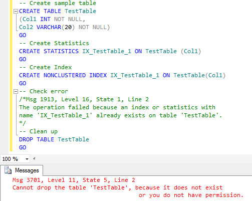 SQL SERVER - SQL Server Statistics Name and Index Creation statindex4
