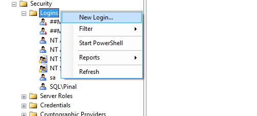 SQL SERVER - Add Any User to SysAdmin Role - Add Users to System Roles sysadmin1