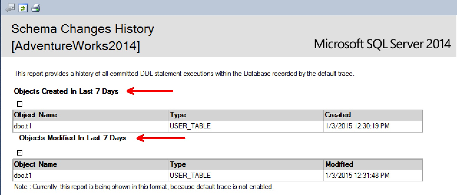 SQL SERVER - Finding Tables Created Last Week - DBA Tip table-creates-last-week-02