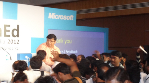 SQLAuthority News - #TechEdIn - TechEd India 2012 Memories and Photos TechEd04