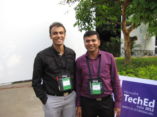 SQLAuthority News - #TechEdIn - TechEd India 2012 Memories and Photos TechEd06