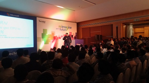 SQLAuthority News - Excellent Experience at TechEd India 2013 Bangalore and Pune - Photo Journey 2