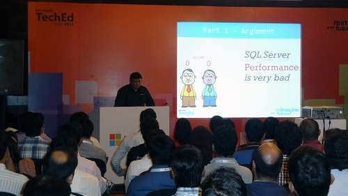 SQLAuthority News - Excellent Experience at TechEd India 2013 Bangalore and Pune - Photo Journey 3