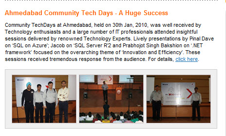 SQLAuthority News - MSDN Flash Mentions - TechNet Flash Mention - Top Community Contributors (Annual) Winner technet2
