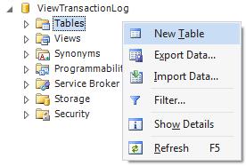 SQL SERVER - Beginning Reading Transaction Log File tlog1
