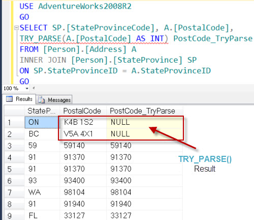 SQL SERVER - Denali - Conversion Function - TRY_PARSE() - A Quick Introduction tryparse3