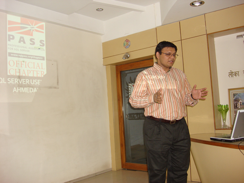 SQLAuthority Author Visit - Ahmedabad SQL Server User Group Meeting - November 2008 UGnov