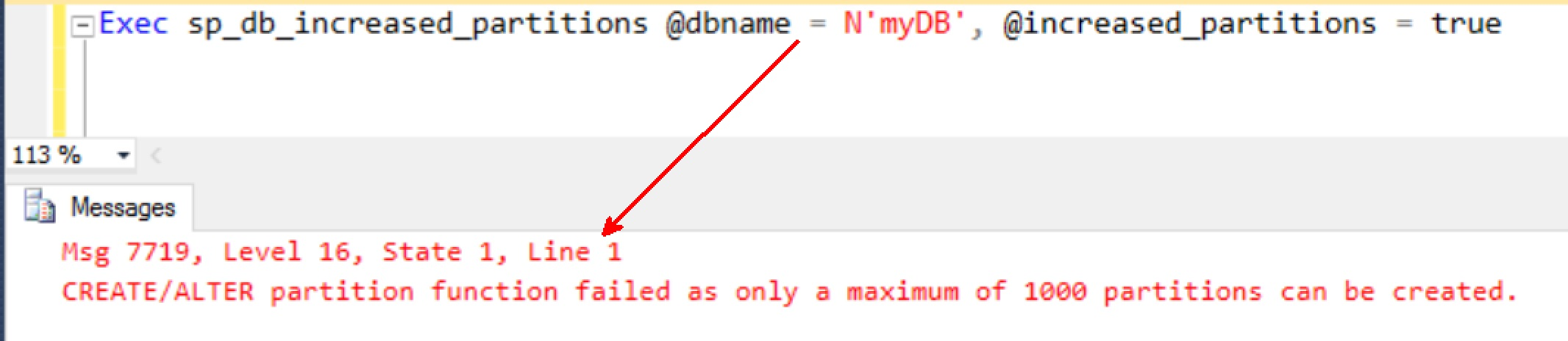SQL SERVER - Disabling 15000 Partitions (15k) Disabling-15k-01