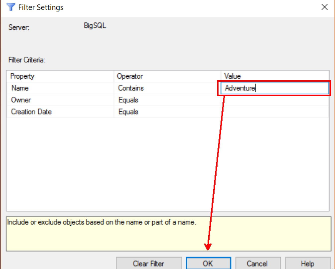 SQL SERVER - SSMS Enhancement - Databases Node Filter Capability Filter-databases-SSMS-02