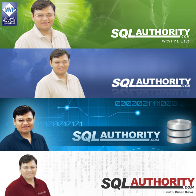 SQL Authority News - Behind the Scene Story of New Look SQLAuthorityBanner