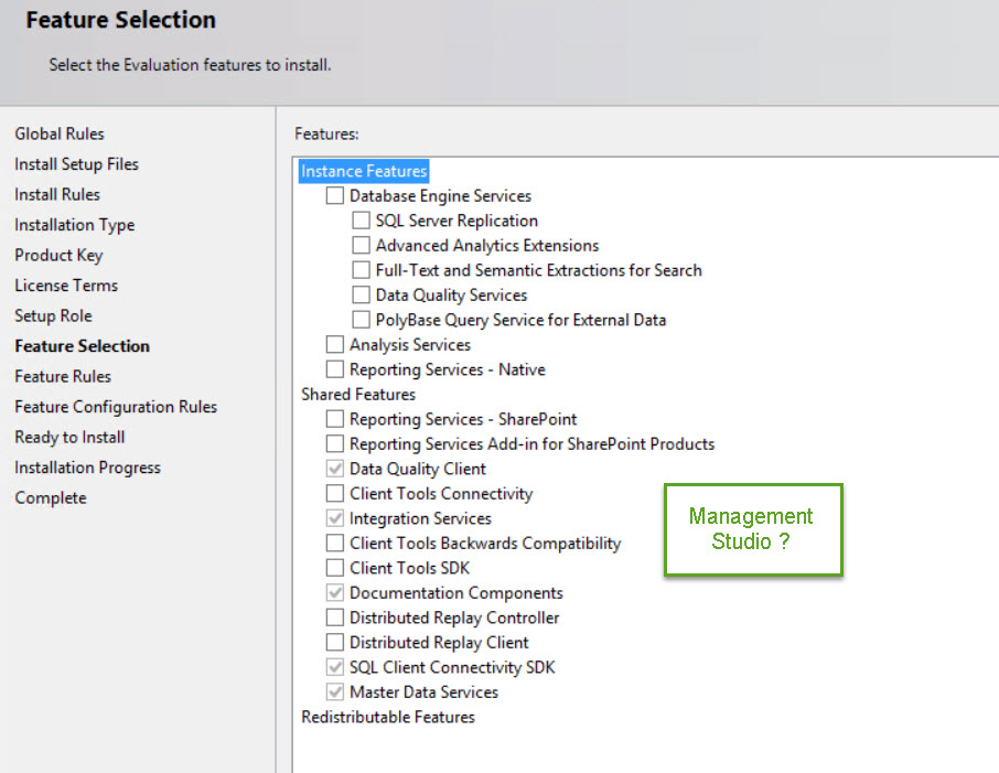 SQL SERVER - Installing SQL Server Management Studio 2016