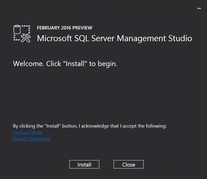 SQL SERVER - Installing SQL Server Management Studio 2016 - Step by Step SSMS-2016-04