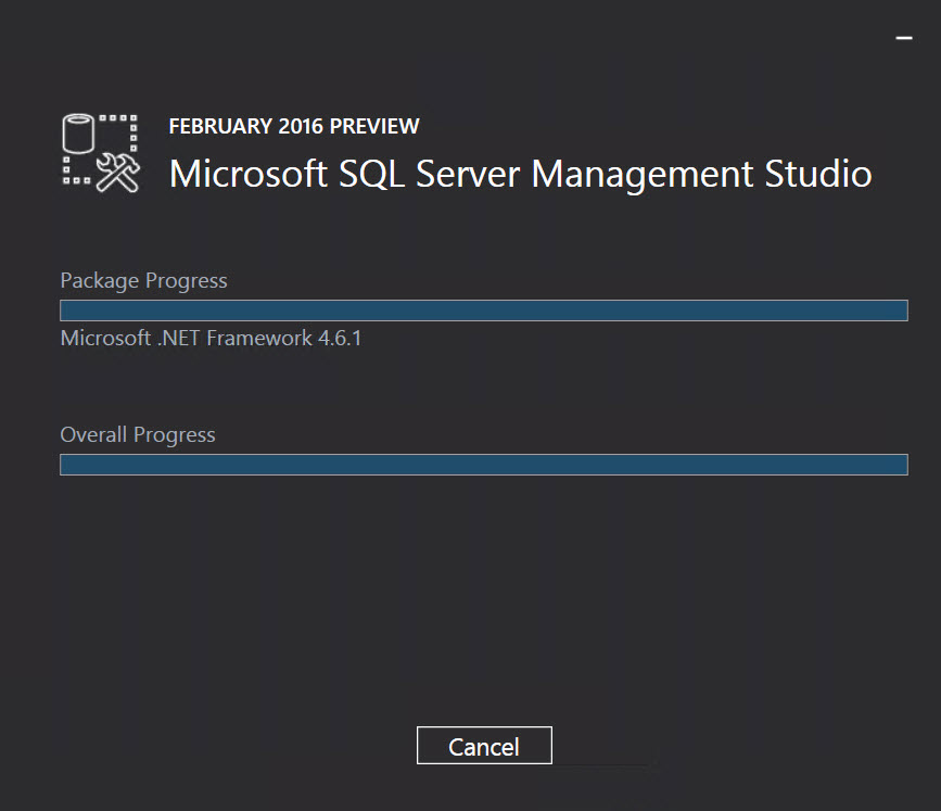 SQL SERVER - Installing SQL Server Management Studio 2016 - Step by Step SSMS-2016-05