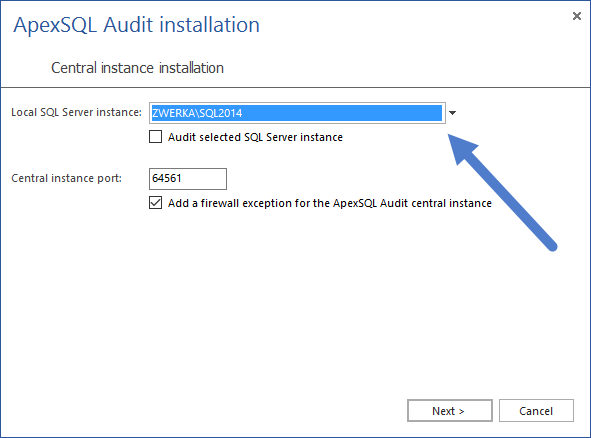 SQL SERVER - Database Auditing and Compliance apexaudit3