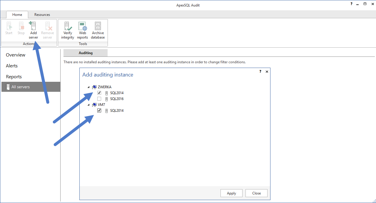 SQL SERVER - Database Auditing and Compliance apexaudit6